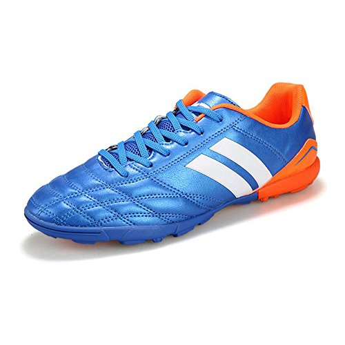 Eastlion Men's And Boys Breathable Sport Shoes Athletic Shoes Desert Running Shoes Trainer Shoes Football Shoes Blue 2 tciZDMT4x