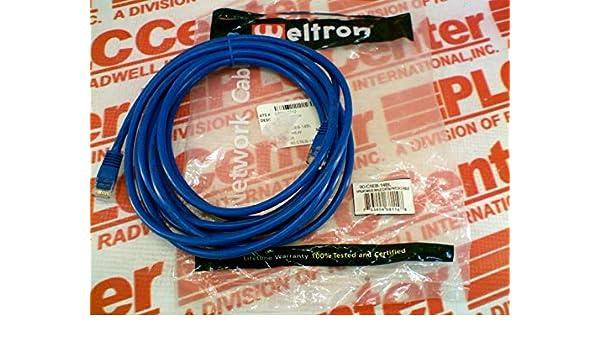 14FT CAT5E PATCH CABLE BLUE