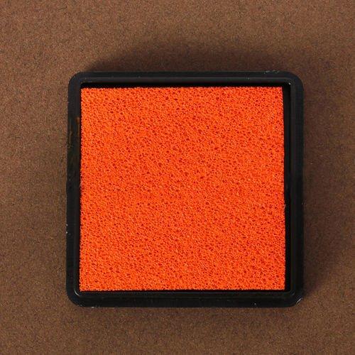Decorative Stamps - Jesjeliu Color Cute Inkpad Based Diy Ink Pad Rubber Stamp Fabric Scrapbook Decor Fingerprint - Seal Postage Rubberized Craftsmanship Impression Prophylactic - 1PCs
