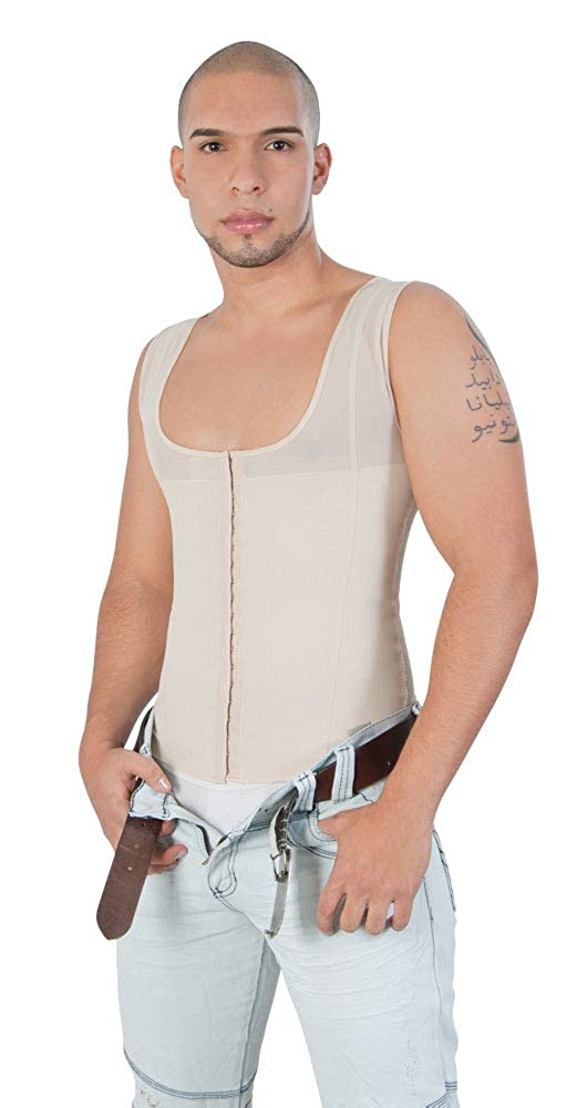Shapewear for Man Jholui Fajas Colombianas Post Surgery Daily use Girdles XL Extra Large Beige
