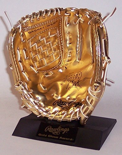 Fan Award (Rawlings Baseball Gold Glove Award Mini Mitt - 6 inches tall - New in Rawlings Box)