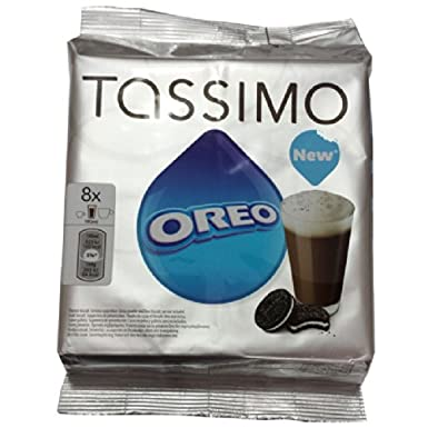 Tassimo Oreo Hot Chocolate X 4 Pack Total 32 Servings