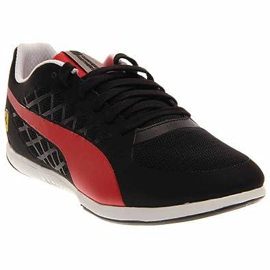 c554c6bc875e Puma Valorosso 2 Scuderia Ferrari Fashion Sneaker Shoe - Black Rosso Corcsa  - Mens - 8. 5  Buy Online at Low Prices in India - Amazon.in