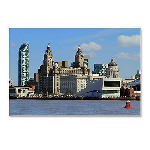 - CafePress - Liverpool Waterfront - Postcards (Package of 8), 6