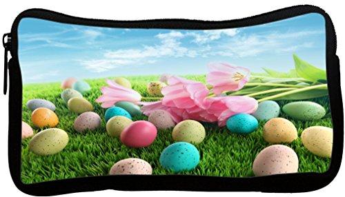 Rikki Knight Easter Eggs with Pink Flowers Design Neopren...