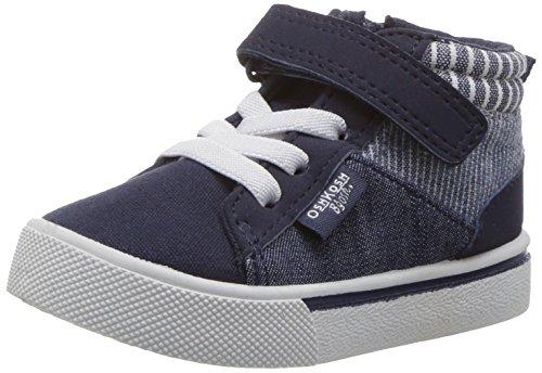 Marty Shoes (OshKosh B'Gosh Boys' Oshkosh B'Gosh Marty High Top Sneaker, Navy, 8 M US Toddler)