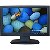SVD, 18.5-Inch Professional Security Monitor, 3D Comb Filter, 1080P Full HD Wide LED display with HDMI, VGA, Audio In/Out, BNC Video In/Out and Build-in Speaker