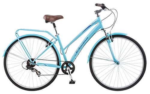 (Schwinn Network 2.0 700c Women's 16 Hybrid Bike, 16-Inch/Small, Blue)