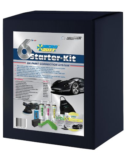 Nanoskin AutoScrub Medium Grade Wash Mitt Pro Starter Kit AS-022