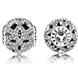 Pandora ESSENCE Collection Appreciation Charm with Clear CZ 796054CZ- Fits Only ESSENCE Bracelet