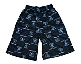 Oakland Raiders Youth Size Small (8) All Over Team Logo Flannel Pajama Shorts - Las Vegas