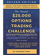 $25K Options Trading Challenge (Second Edition): Proven techniques to grow $2,500 into $25,000 using Options Trading and Technical Analysis