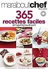 365 recettes faciles de l'apéritif au dessert par Marabout
