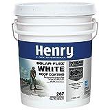 Henry HE287SF871 4.75 Gallon White ELSTMR Solar-Flex Roof Coating