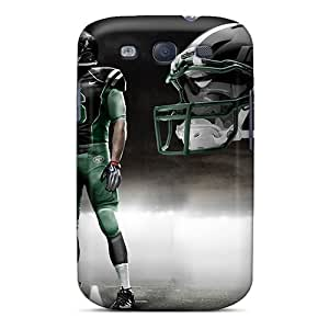 Scratch Protection Hard Phone Cover For Samsung Galaxy S3 With Customized Realistic New York Jets Pictures SherriFakhry