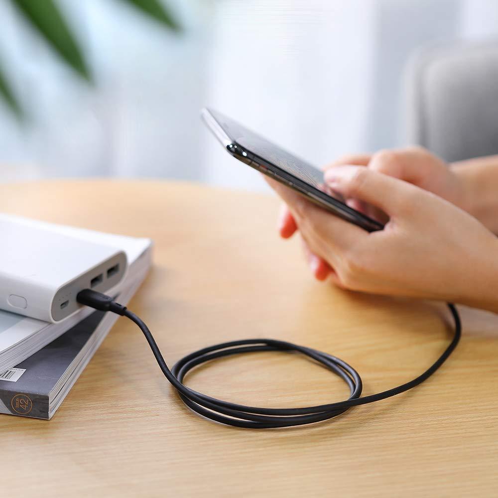 f/ür Typ-C Ladeger/äte RAVPower USB C auf Lightning Kabel 90cm//180cm lang USB C Ladekabel f/ür iPhone X//XS//XR//XS Max // 8//8 Plus Apple MFi-Zertifiziert 0.9m, Wei/ß Unterst/ützt Power Delivery