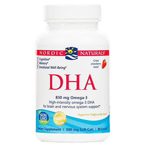Nordic Naturals - DHA, Brain and Nervous System Support, 90 Soft Gels (FFP)