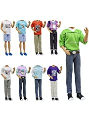 ZITA ELEMENT 5 Sets Fashion Casual Wear Clothes for 11.5 Inch Doll Boyfriend 12 Inch Doll Accessories Outfits