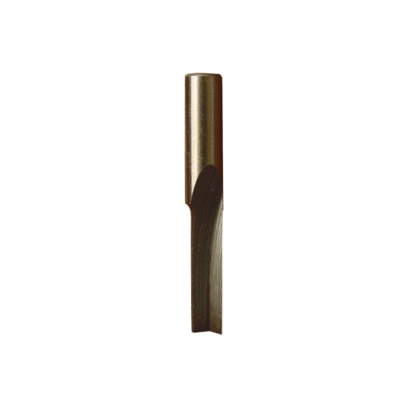 Minitool 4mm HSS Groove Milling Cutter, Silver Shesto Ltd MT320509
