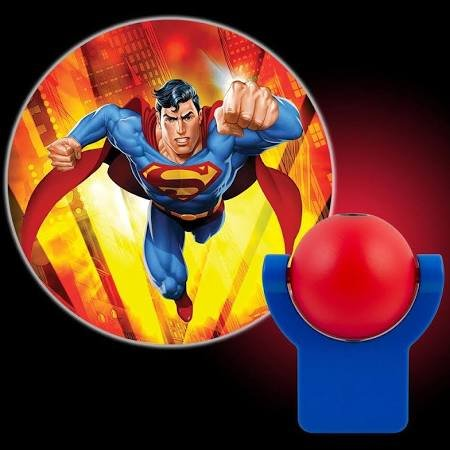 picture of DC COMICS 10559 LED Projectable Night Light (Superman(R))