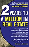 img - for 2 Years to a Million in Real Estate book / textbook / text book