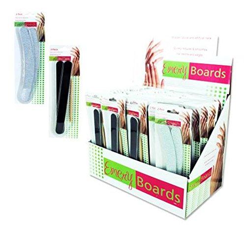 Emery Board in Multicolor by Kole Imports