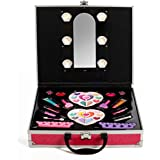 IQ Toys Glamorous Girls Makeup set, Mirror and lights built into Case interior