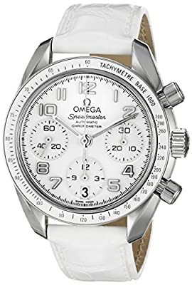 Omega Women's 324.33.38.40.04.001 Speedmaster White Dial Watch