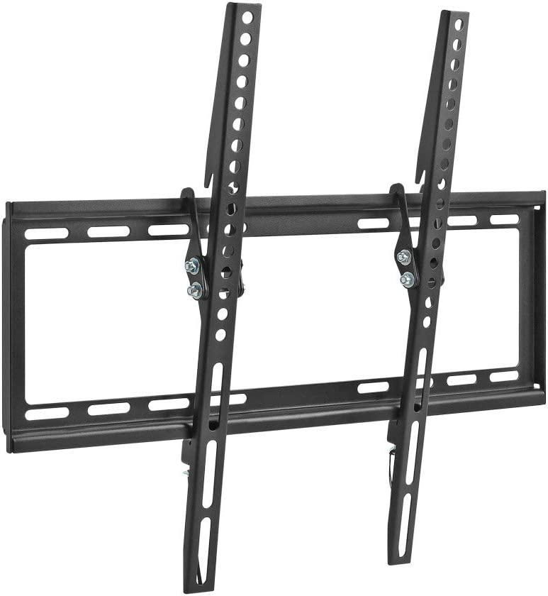 Cmple - Tilt TV Wall Mount Bracket for 32-55 Inches TVs, LED, LCD Flat Screens up to 77 lbs, Tilting TV Mount 8 Degrees for Anti-Glaring, Low Profile & Space Saving Mount, VESA max 400x400mm