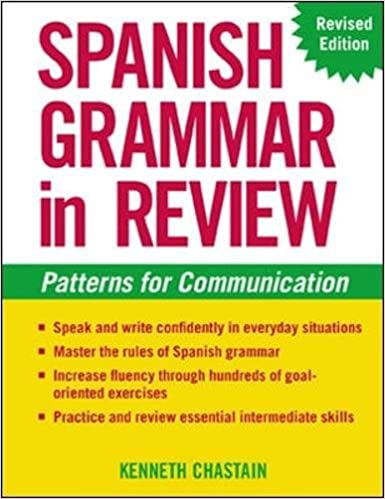Amazon com: Spanish Grammar in Review (9780071414166): Kenneth