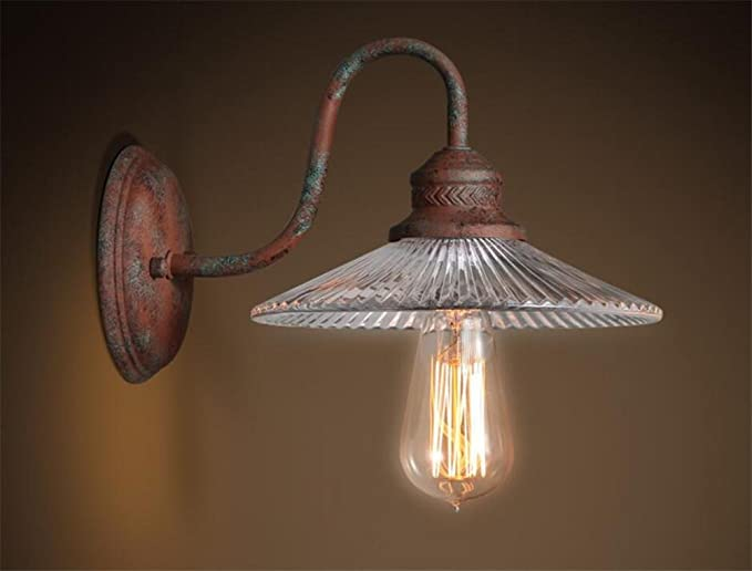 Atmko lampada da parete applique da parete vintage industrial