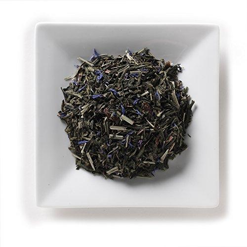 Mahamosa Goji Berry - Blueberry Pomegranate Tea 2 oz (with goji berries, pomegranate), Loose Leaf (Looseleaf) Green Tea Blend