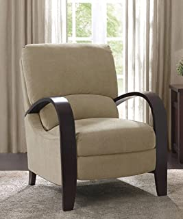 Microfiber Recliner Chair Bent Wood Armrest Reclining Armchair Backrest Footrest Foot Support That Provides Comfort and & Amazon.com: This New Contemporary Recliner Chair Compares Well to ... islam-shia.org