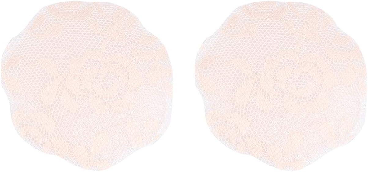 Exceart 2 Paar Silikon Nippel Abdeckung Spitze BH Selbstklebende Brust Brust Pasters Heben Klebeband Aufkleber Abziehbilder f/ür Frauen Dame