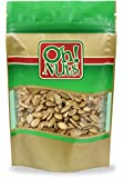 Pumpkin Seeds Roasted Salted, Pepitas Roasted Salted Great for Healthy Snacking or Salad Toppings No Shell 2 LB - Oh! Nuts