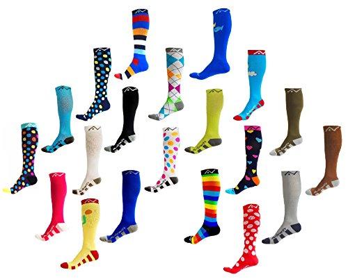 Price comparison product image Compression Socks for Women & Men - Ocean Harmony,  Medium