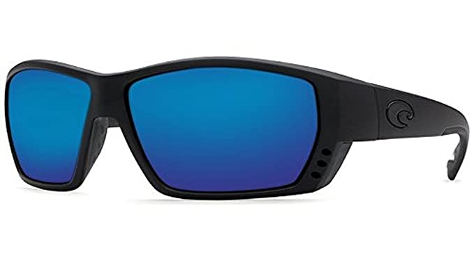 54b9f4f2c84 Costa Tuna Alley Sunglasses Blackout Blue Mirror Glass 580G   Neoprene  Classic Bundle