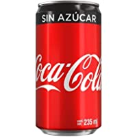 Coca-Cola Sin Azúcar, 24 Pack - 235 ml/lata