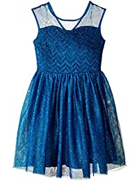 Big Girls' Illusion Yoke Ballerina Dress