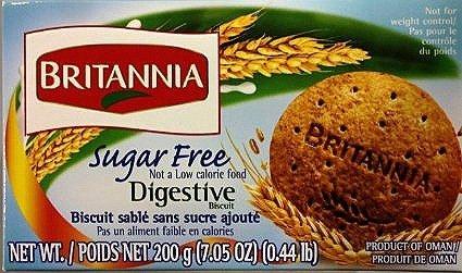 (Britania Sugar free Digestive biscuit 200g by Britannia)
