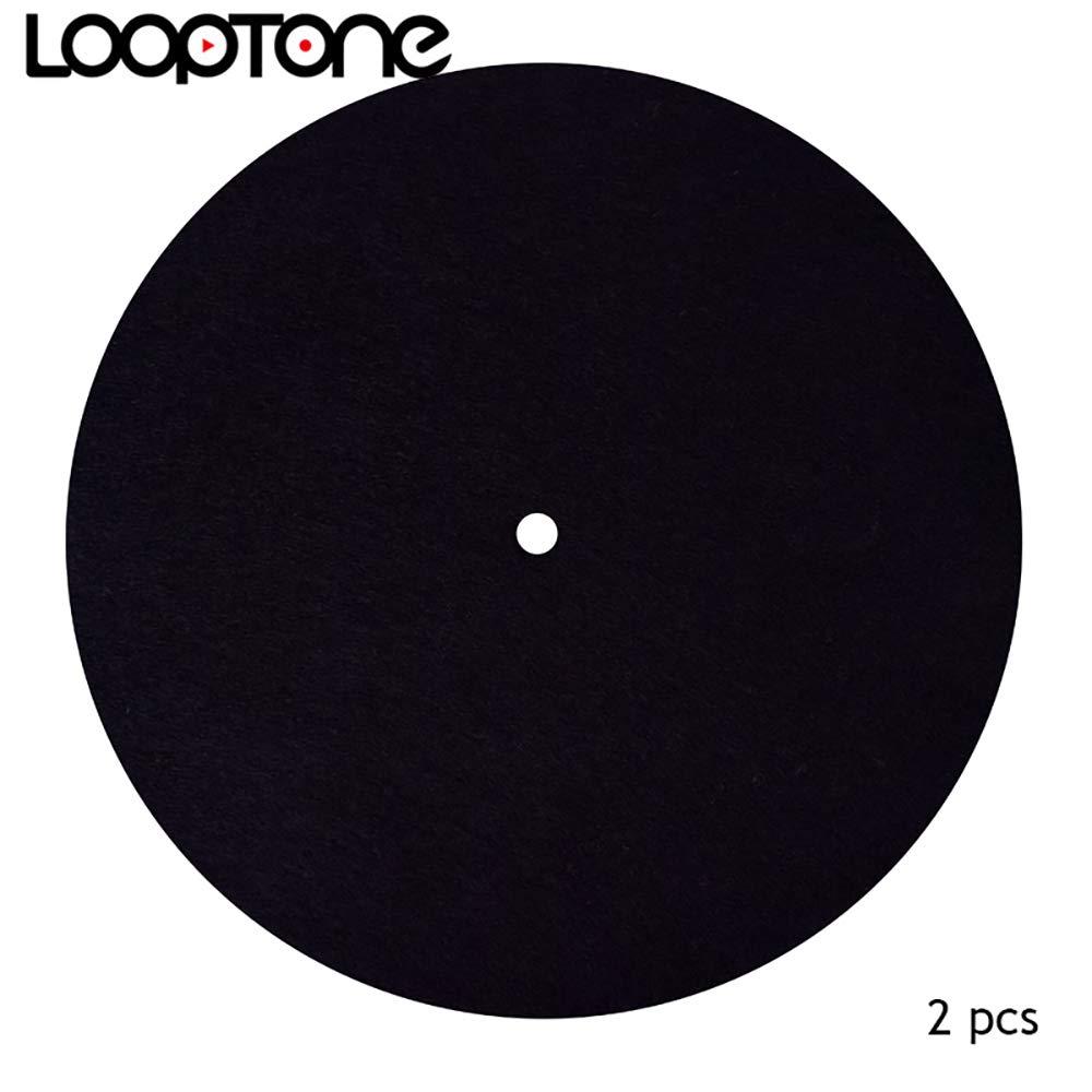 Tapete de fieltro antiestático para tocadiscos de LoopTone ...