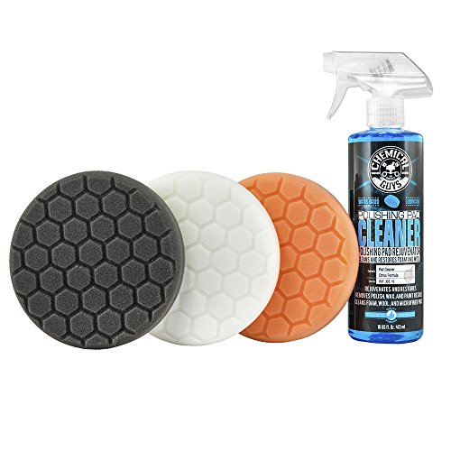 "Chemical Guys HEX_3KIT_6 6.5"" Buffing Pad Kit (4 Items), 16. Fluid_Ounces, 4 Pack"
