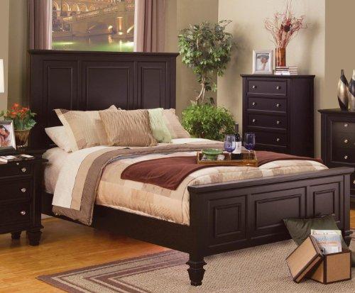 Coaster Home Furnishings Sandy Beach Queen High Headboard Bed Cappuccino