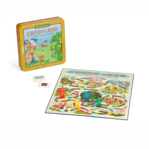 Candyland The Game (Candyland Deluxe Board Game in Classic Nostalgia Collector's Tin by Winning)