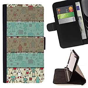 Jordan Colourful Shop - grey gift pattern winter christmas For HTC One M9 - Leather Case Absorci???¡¯???€????€?????????&At