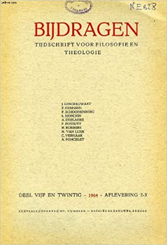 Lire un Bijdragen, ii-iii, 1964, tijdschrift voor philosophie en theologie pdf, epub