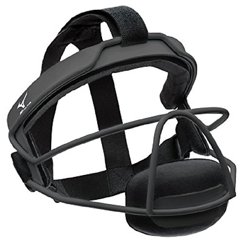 (Mizuno MFF900Y Fielder's Small/Medium Facemask, Black, One Size)