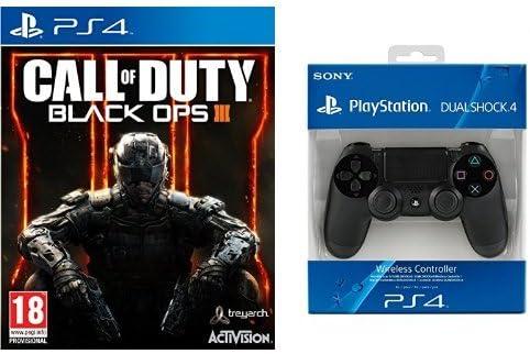 Call Of Duty: Black Ops III + DualShock 4 - Negro: Amazon.es ...