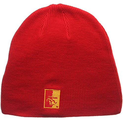 State Cap Pittsburg (Zephyr Men's Pittsburg State Gorillas Edge Knit HAT Scarlet ADJ)