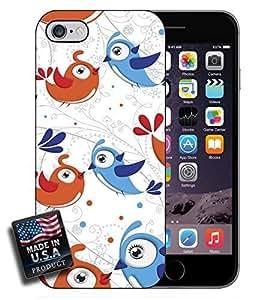 Cute Cartoon Birds iPhone 6 Hard Case